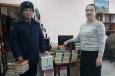 Книжный фонд библиотеки следственного изолятора пополнился на более чем 300 экземпляров книг