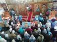 Сотрудники исправительной колонии № 2 посетили праздничное богослужение, посвященное Сретению Господню
