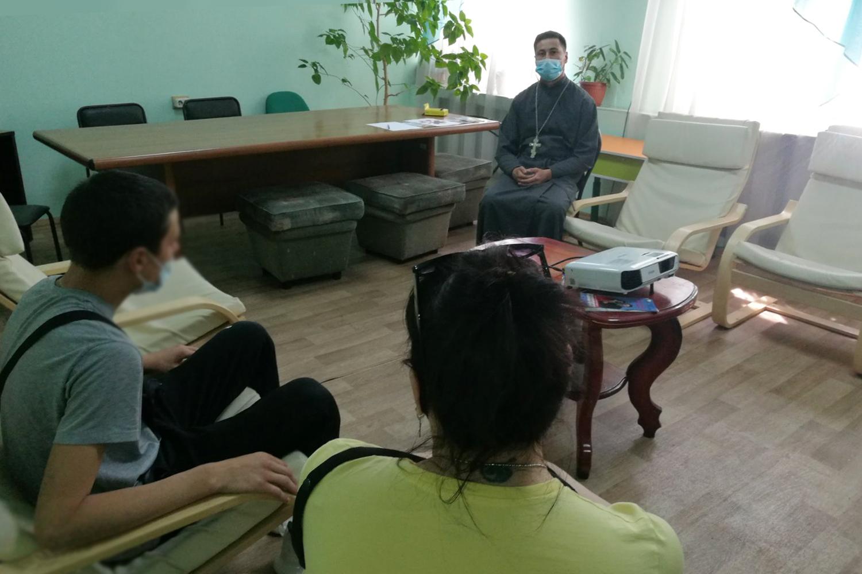 Осужденные, состоящие на учете в уголовно-исполнительной инспекции, побеседовали со священнослужителем