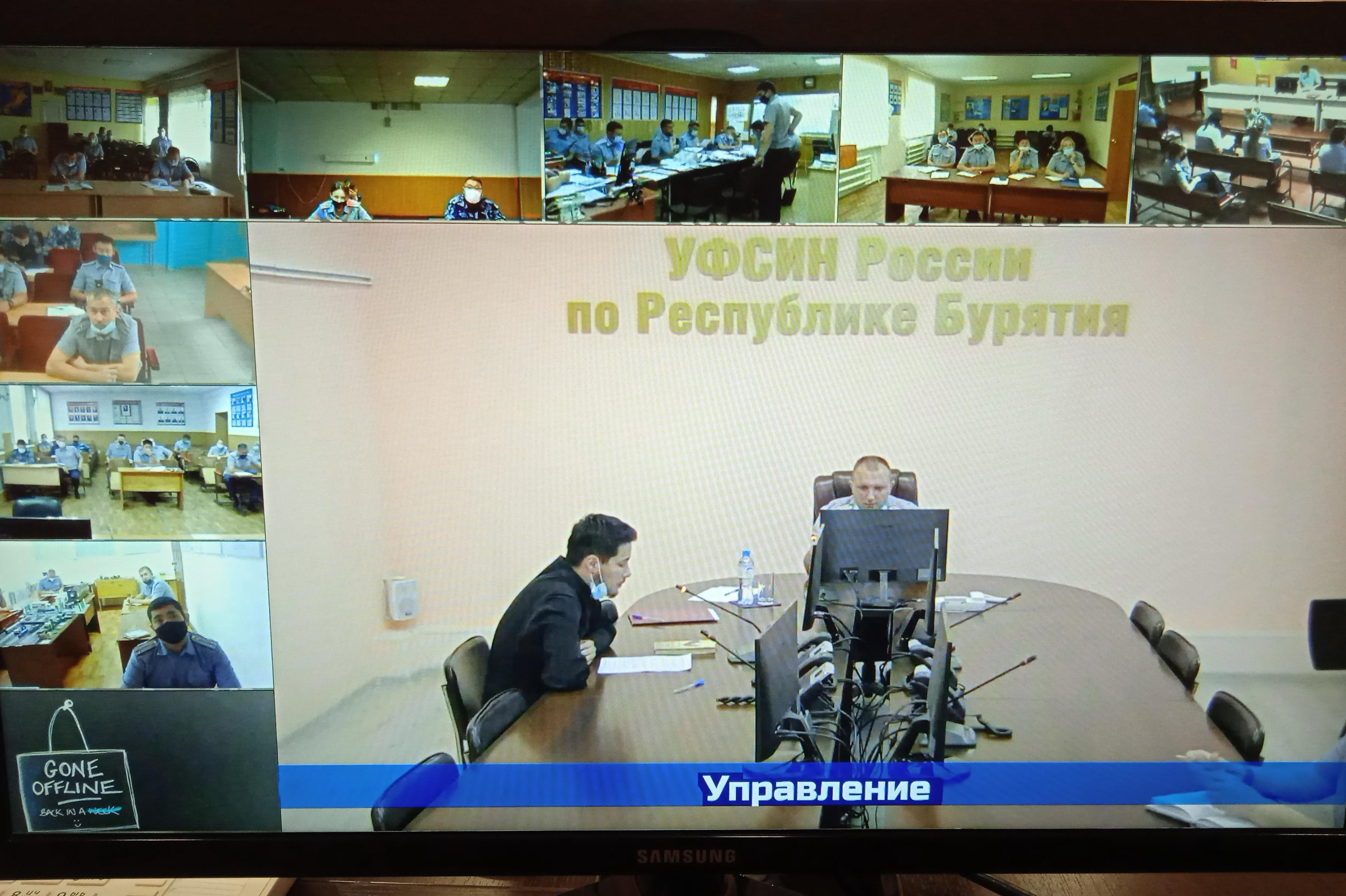 В УФСИН России по Республике Бурятия прошло занятие для сотрудников по противодействию идеологии терроризма