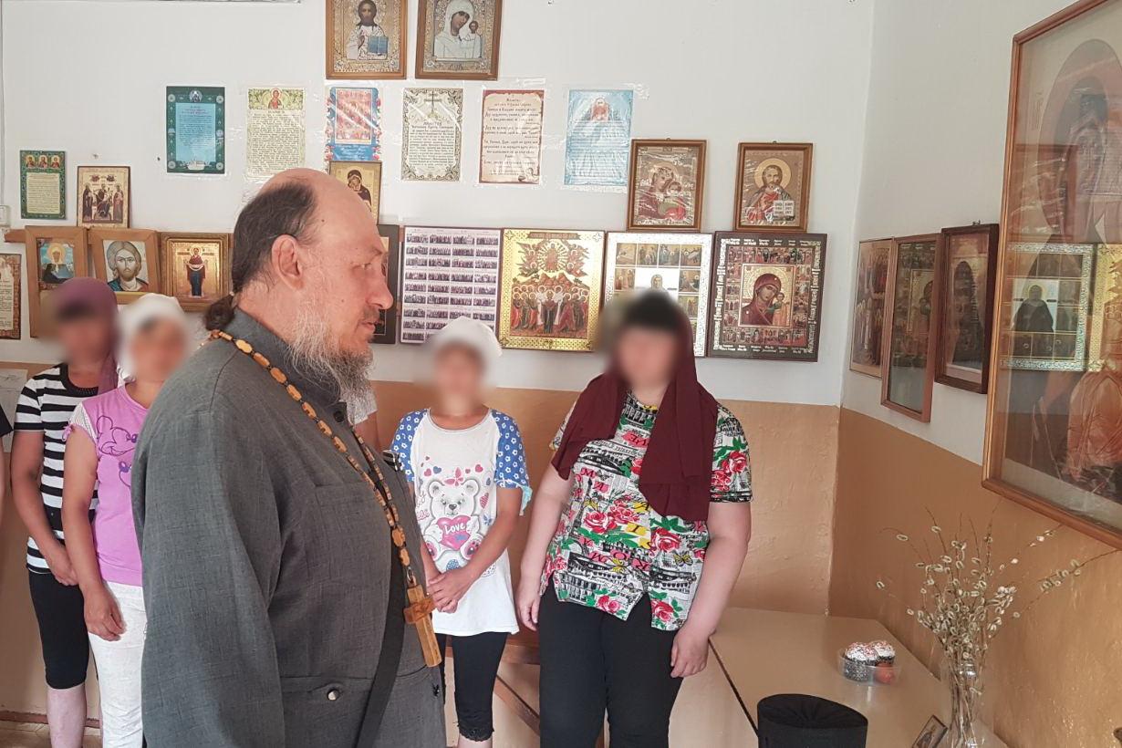 В День крещения Руси колонию-поселение № 3 посетил настоятель Храма пророка Божия Илии