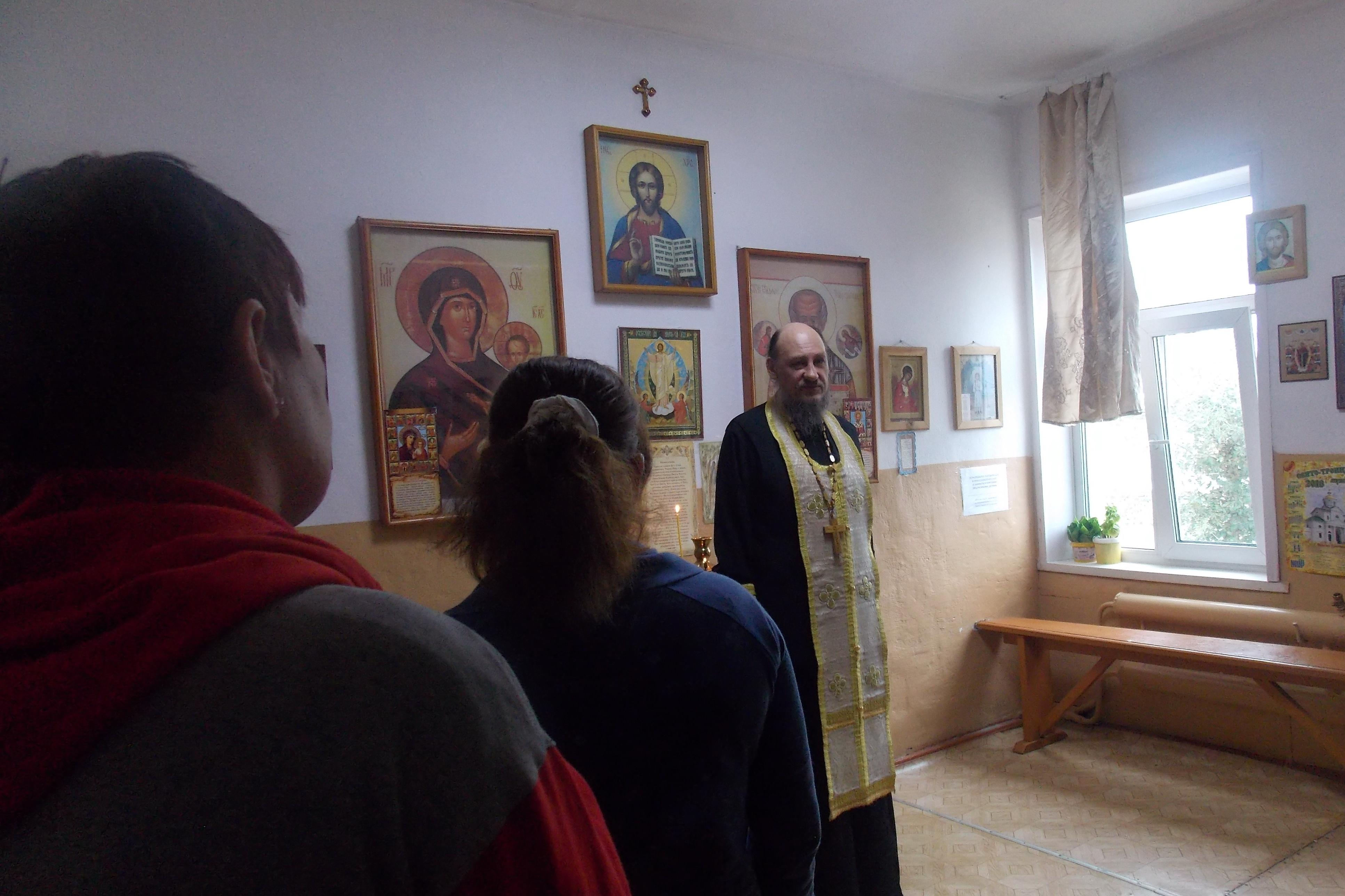 Осужденным колонии-поселения Бурятии рассказали нравственном облике православного христианина