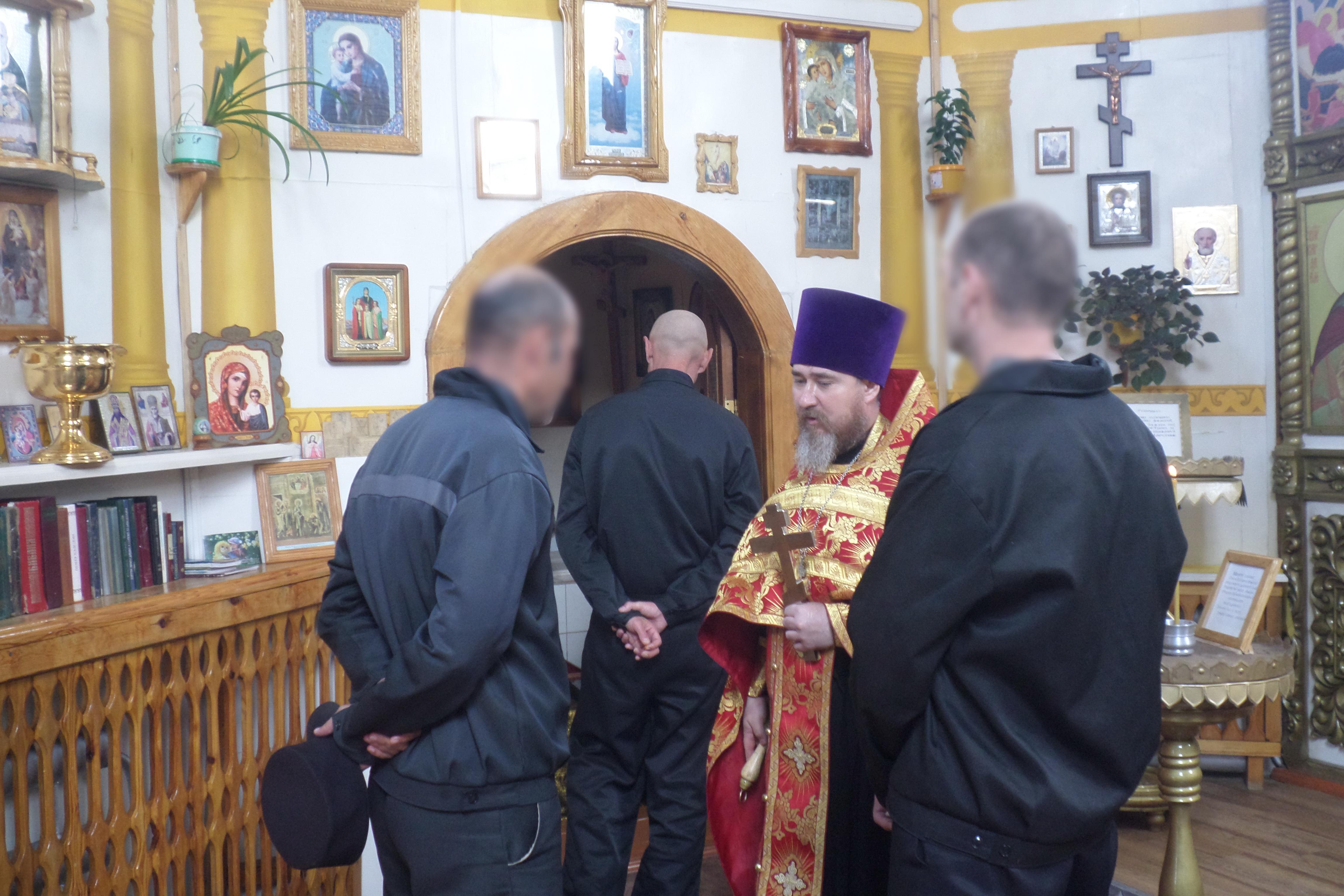 В лечебно-исправительном учреждении № 5 священнослужитель побеседовал с осужденными о греховности употребления наркотических веществ